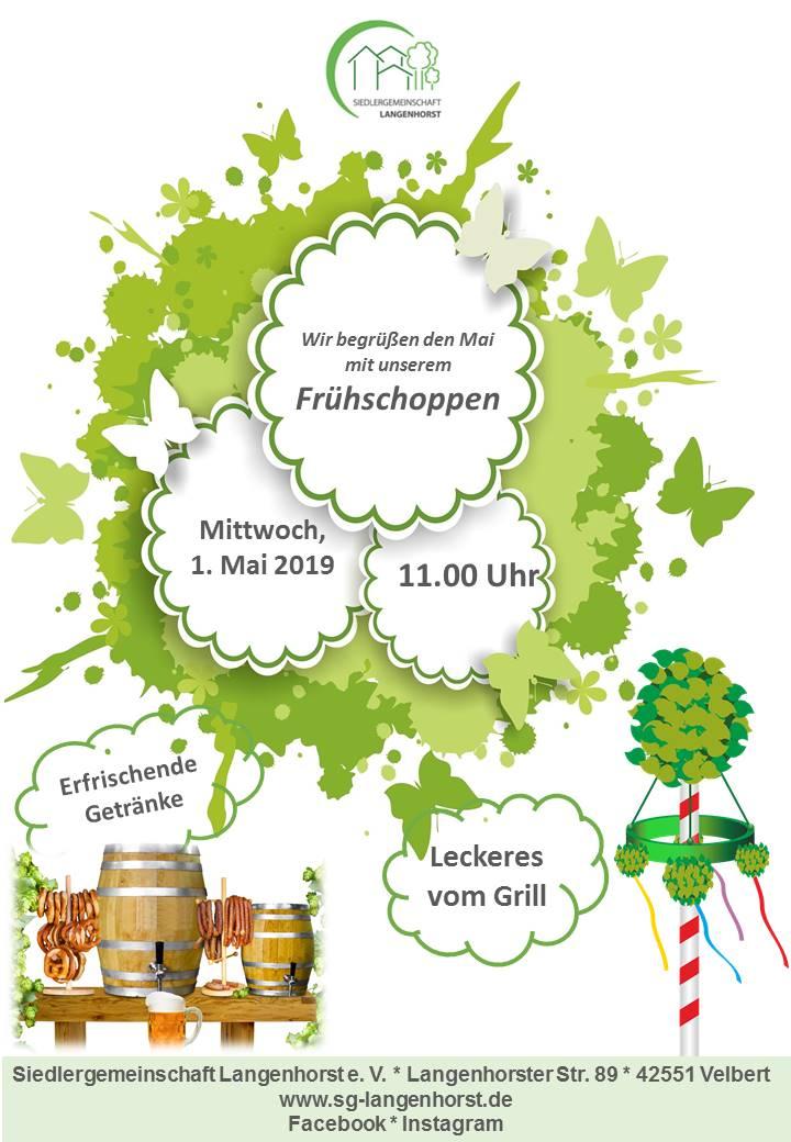 Frühschoppen zum 1. Mai @ Siedlergemeinschaft Langenhorst e. V.
