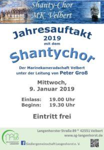 Jahresauftakt mit dem Shantychor @ Siedlergemeinschaft Langenhorst e. V.