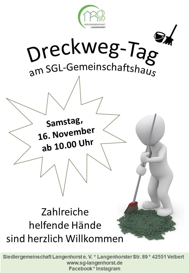 Dreckweg-Tag am SGL-Gemeinschaftshaus